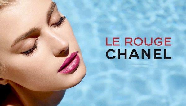 Sigrid Agren for Chanel Rouge