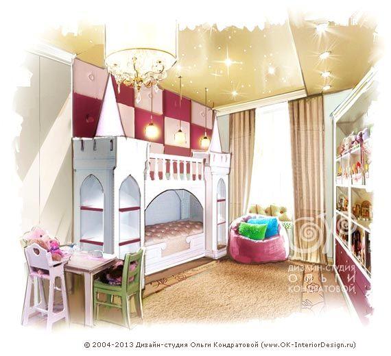 рисунок розовой детской для маленького ребенка Httpwwwok