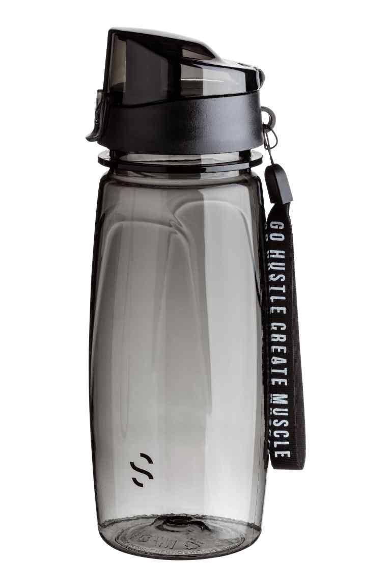 Бутылка для воды с крышкой | Бутылки с водой, Бутылка и ...