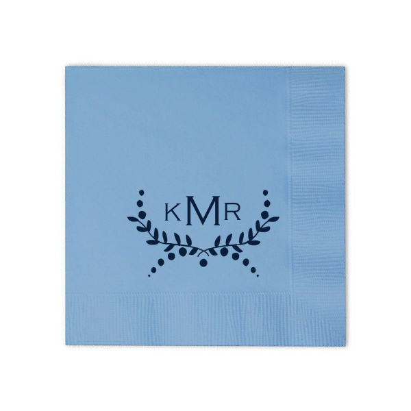 Inspirational Custom French Blue Cocktail Napkins with Matte Navy on ForYourParty HD - Cool navy napkins Ideas