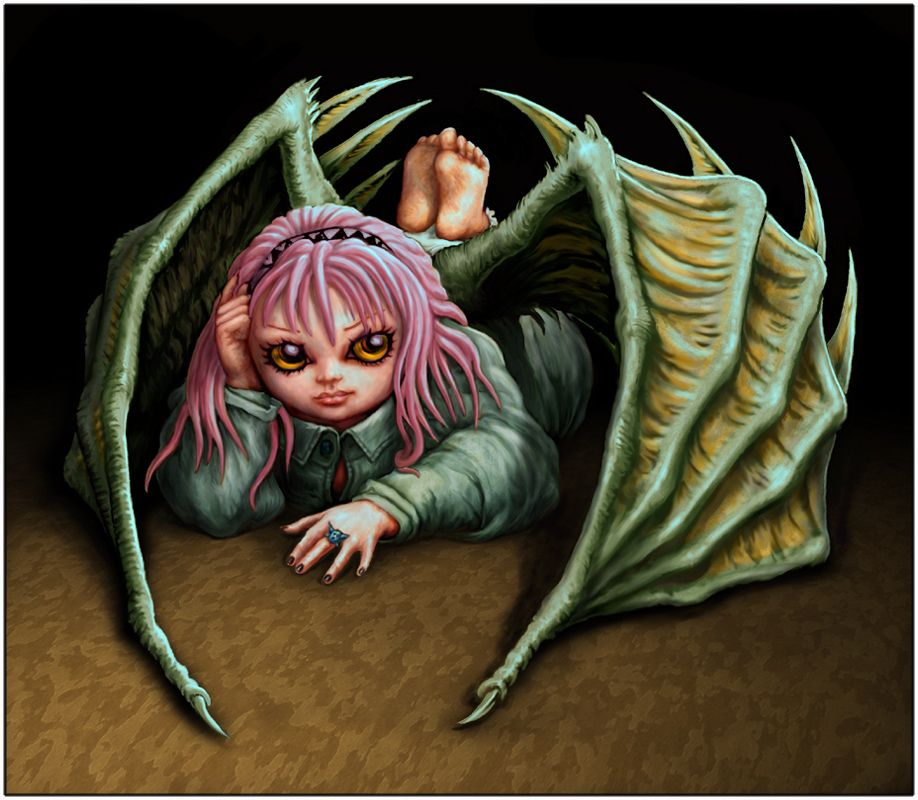 Insouciant This Cute Petulant Vampire Bat Girl Is Inspired By