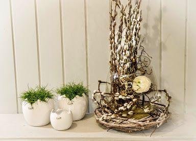 Gerade im wenigen konzentriert sich st rke valentino fr hling ostern dekoration - Weidenkatzchen deko ...