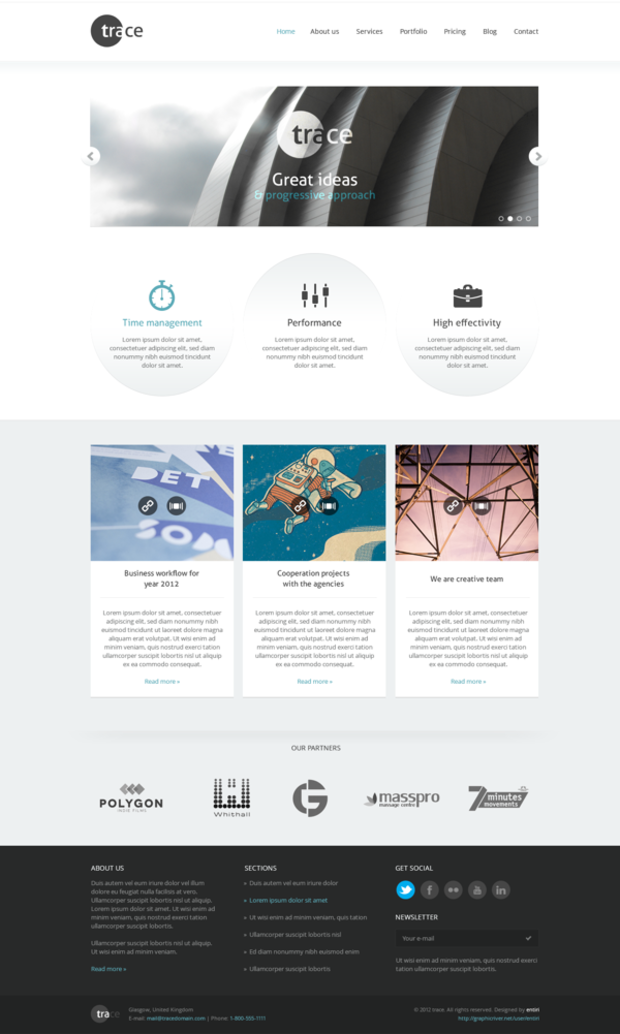Modern And Simple Design Wordpress Theme Clean And Minimal Website Design Inspiration Modern Minimalist Website Template Wordpres Web Design Wordpress Design