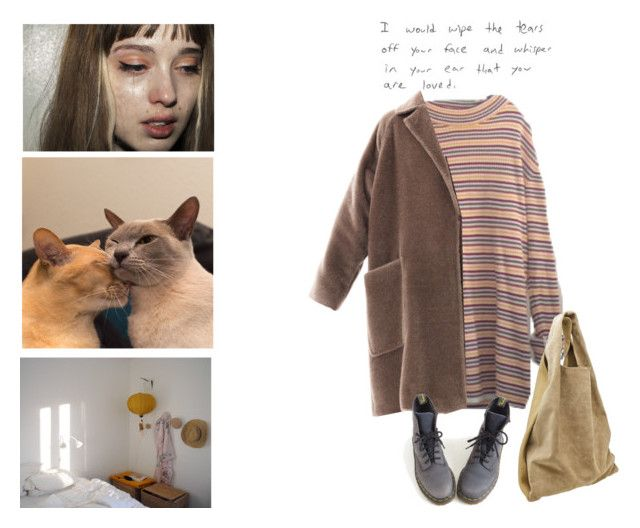 """""""But she doesn't believe me"""" by vesleku on Polyvore featuring Alexander Wang, MaxMara and Dr. Martens"""