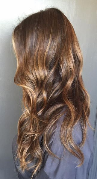 Natural Looking Sunkissed Brunette Highlights Jpg 324 598 Tiger Eye Hair Color Tiger Eye Hair Hair Inspiration Color