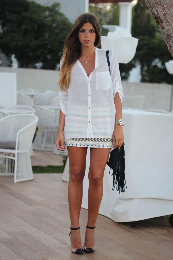 Fashion tumblr photoHakei blouse-Zara skirt-Natalia ...