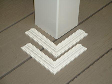 Vinyl Post Wrap Penn Fencing Online Store Porch Posts Porch Pillars Porch Columns
