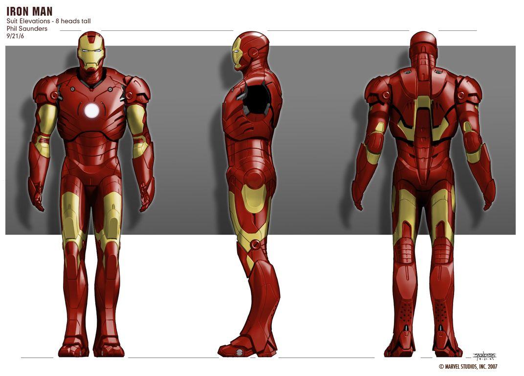Ironman #Elevations | concept art | Pinterest | Iron man suit, Comic ...