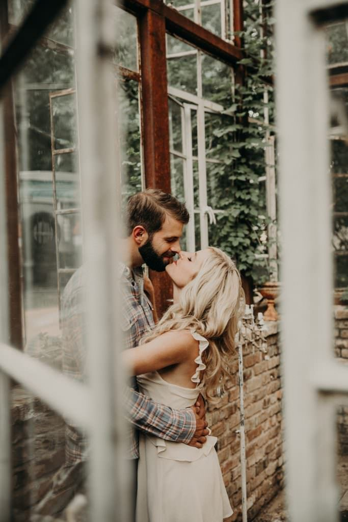 Sekrit Theater Engagement Session in East Austin Texas  Ryleigh  Michael  East Austin Engagement Session Adventure at Sekrit Theater Austin Texas  Photography by Nikkolas...