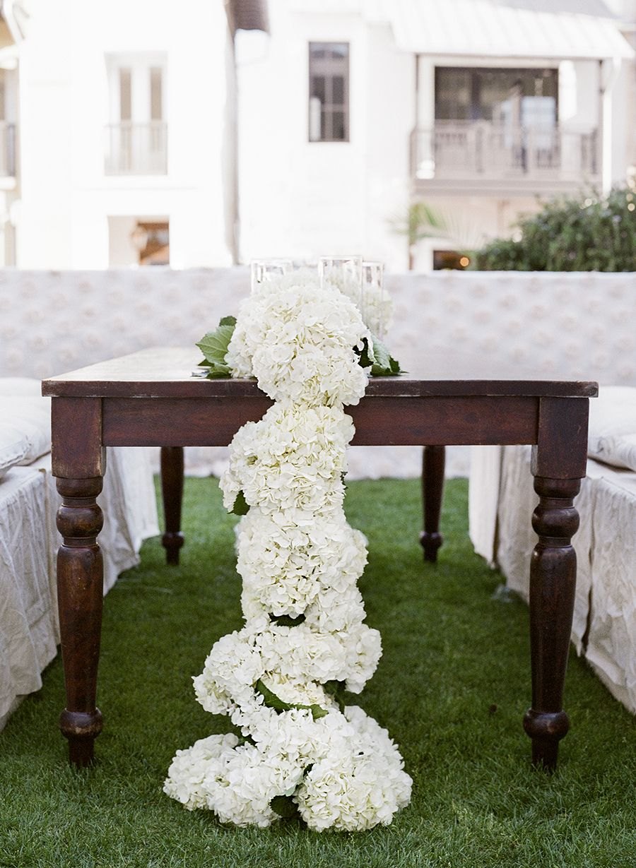 Beach wedding decorations elegant  Traditionally Elegant Rosemary Beach Wedding  When I Say I Do