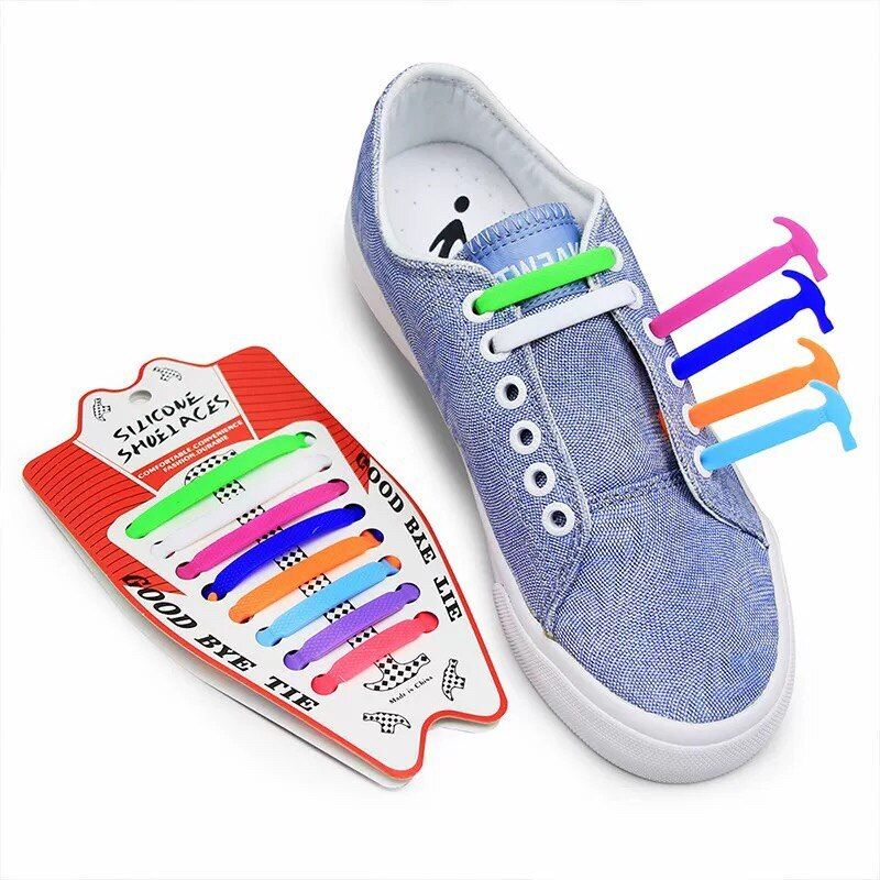PAIR OF FLAT COLORED SHOE LACES Boot String Shoelaces Sneakers Kids Adult