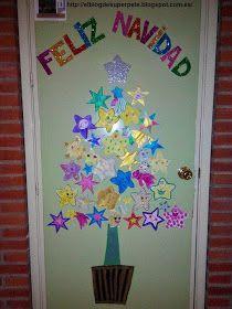 S per pt ideas navide as para decorar nuestras puertas for Puertas decoradas educacion infantil