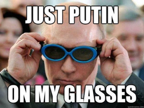Celebrity — On Putin Just My GlassesMemes Vladimir 7gybvYf6