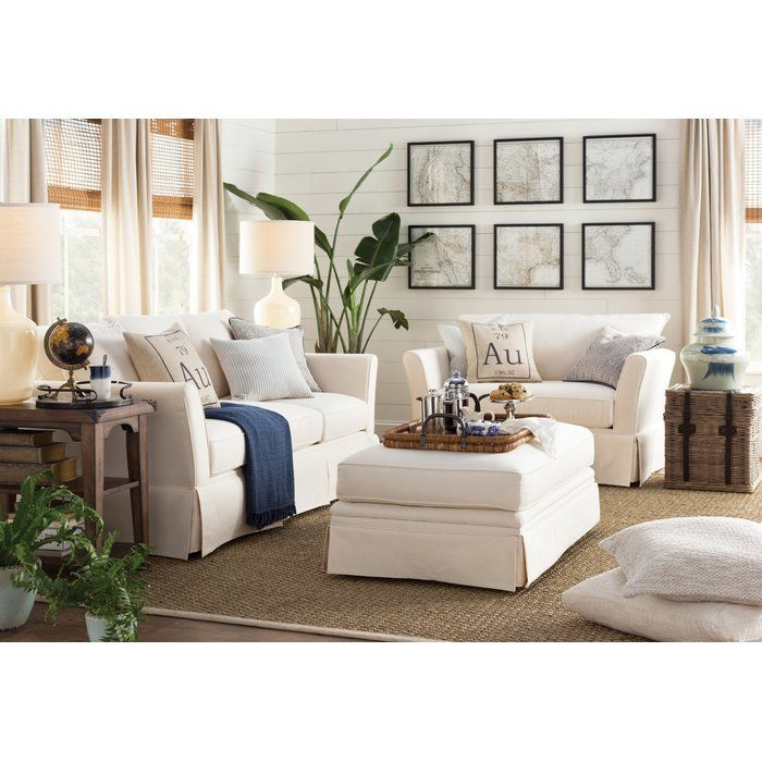 Shelby Ottoman House In 2019 Americana Living Rooms