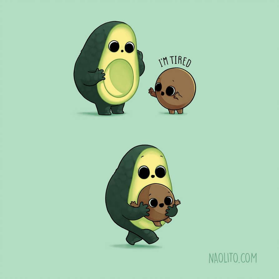 Tired Avocado by Naolito on DeviantArt | Trend