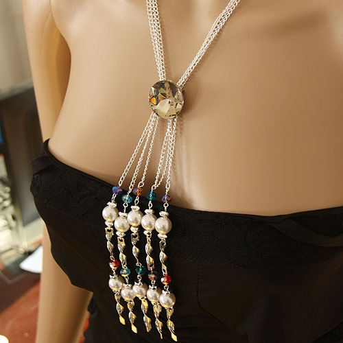 Aliexpress.com : Buy Min Order is $10 Free Shipping 2013 New Fashion Multilayer White K Gold Plated Chain Pearls Elegant Lady's Costume Necklace from Reliable necklace suppliers on heylon wang's store