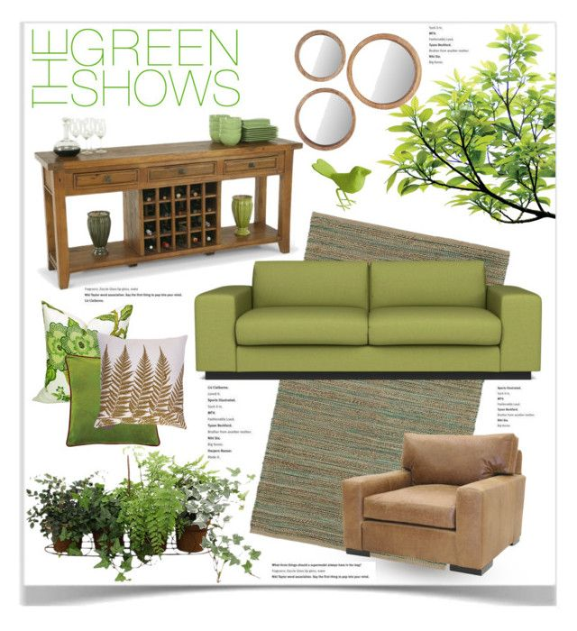 """""""The Green Shows"""" by jpetersen ❤ liked on Polyvore"""