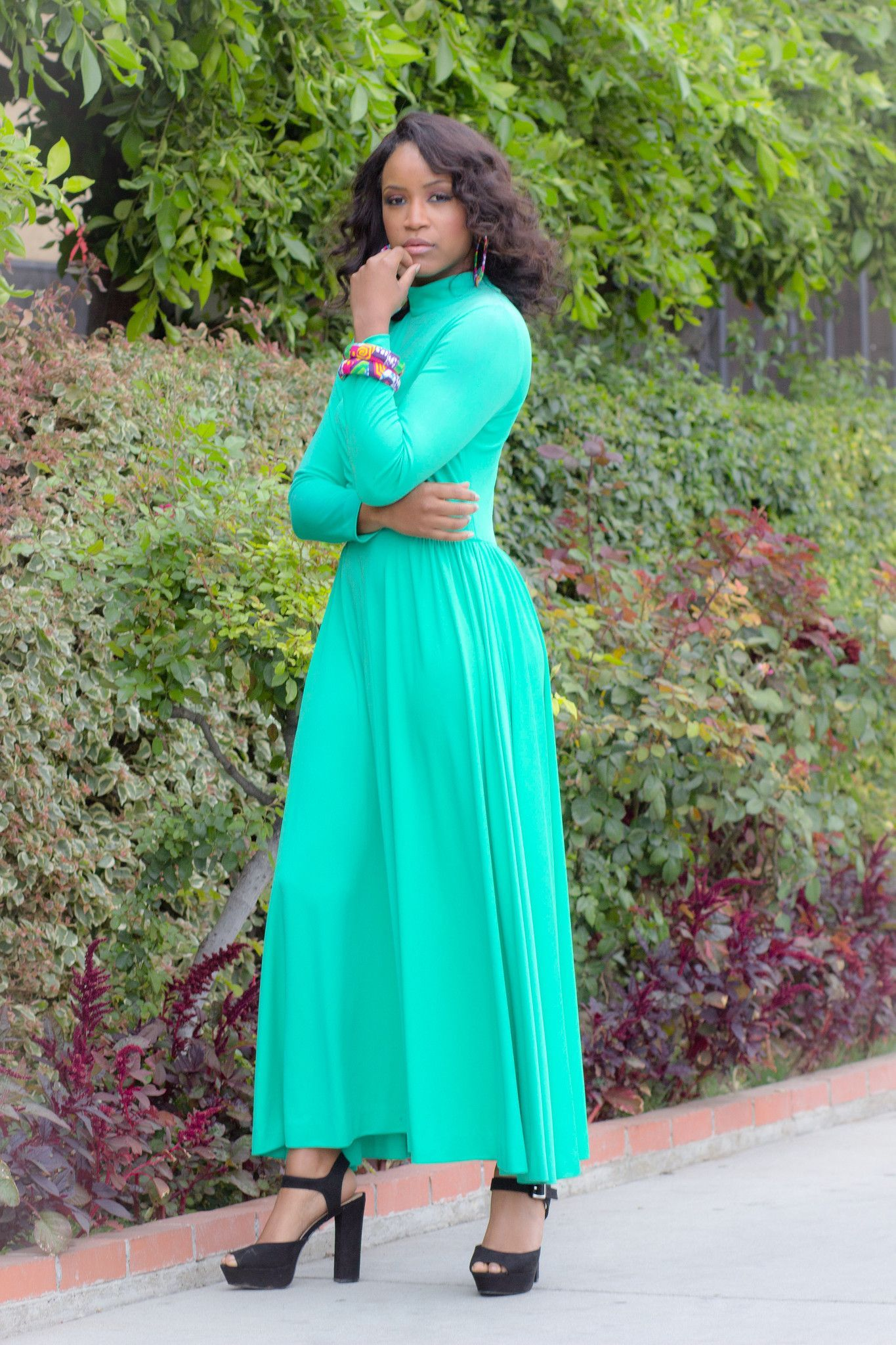 Us alison ayers knit green maxi dress outfits pinterest