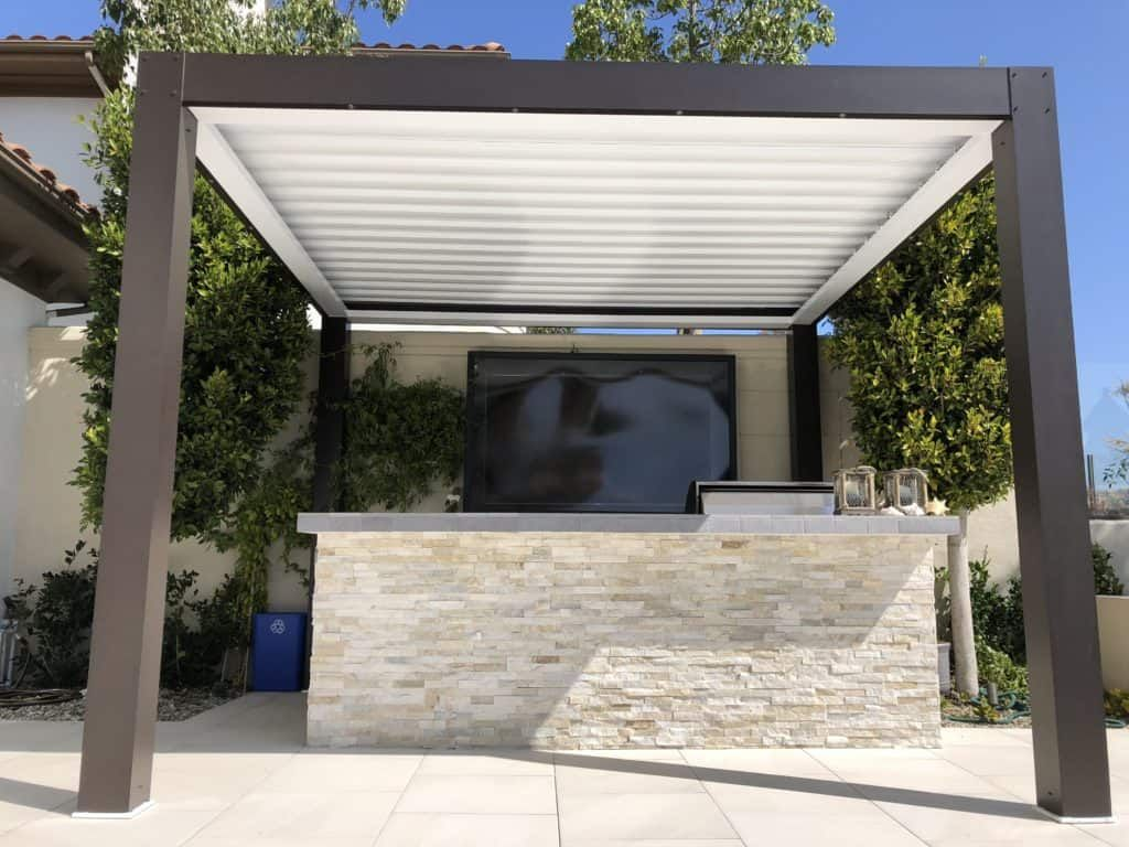 Equinox Louvered Roof System Patio Covers Modern patio