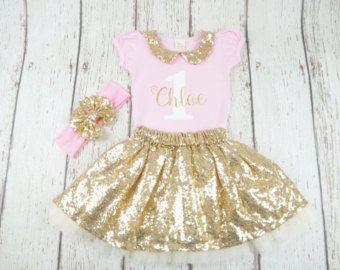Hedendaags baby 1e verjaardag tutu outfit meisjes eerste verjaardag (met IN-41