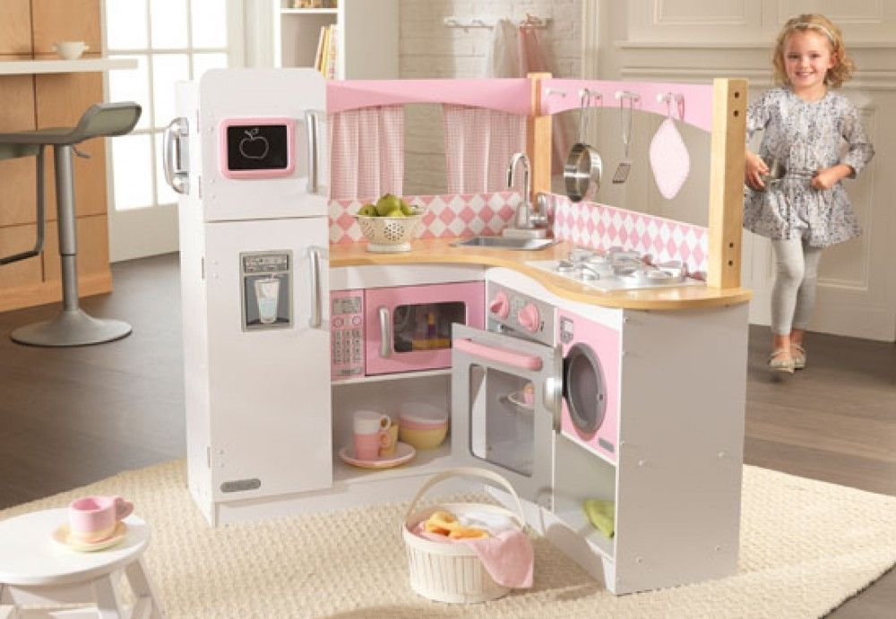 Playing with our Grand Gourmet Kitchen will make any kid feel like a ...