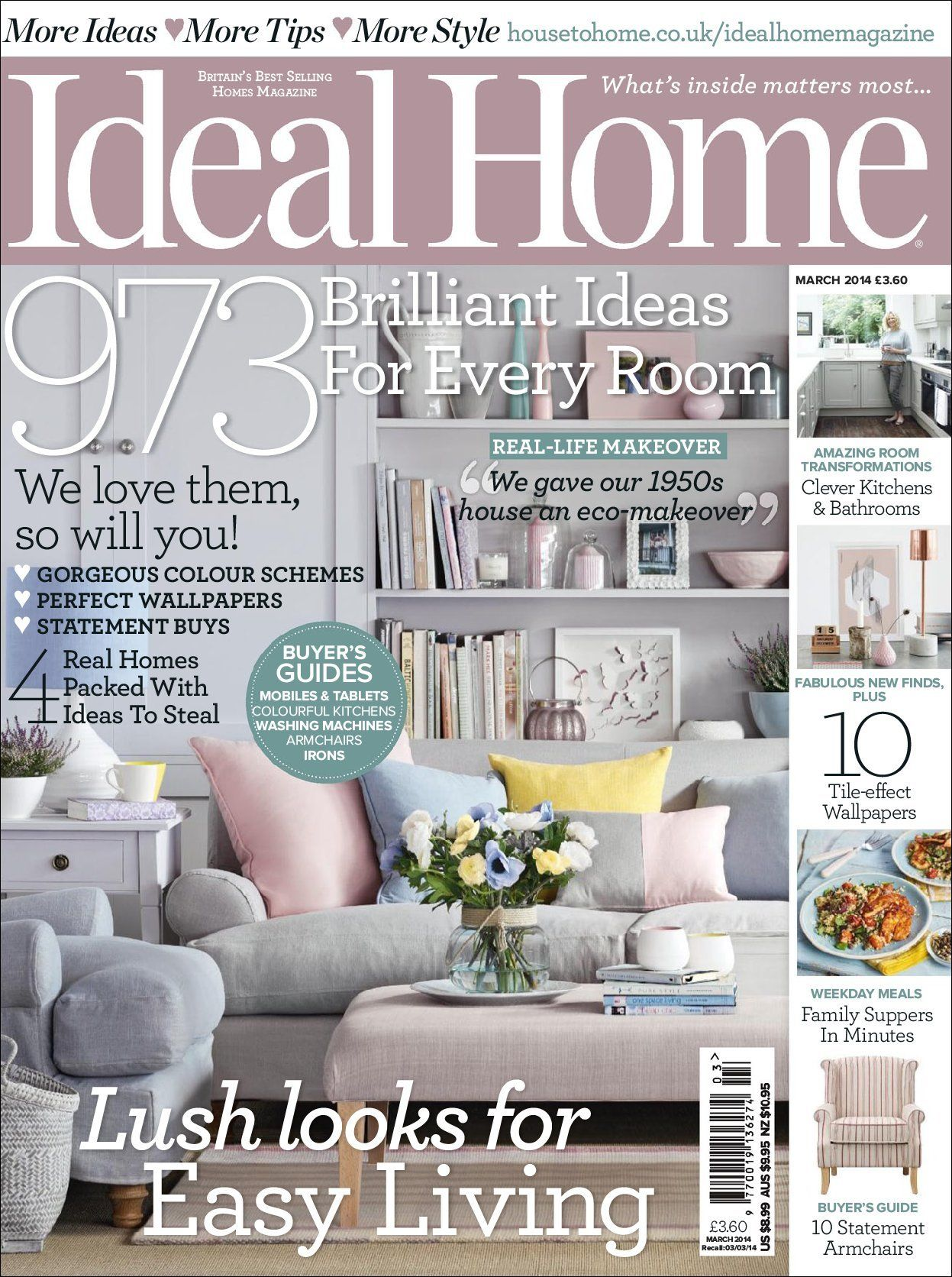 March 01, 2014 Issue Of Ideal Home