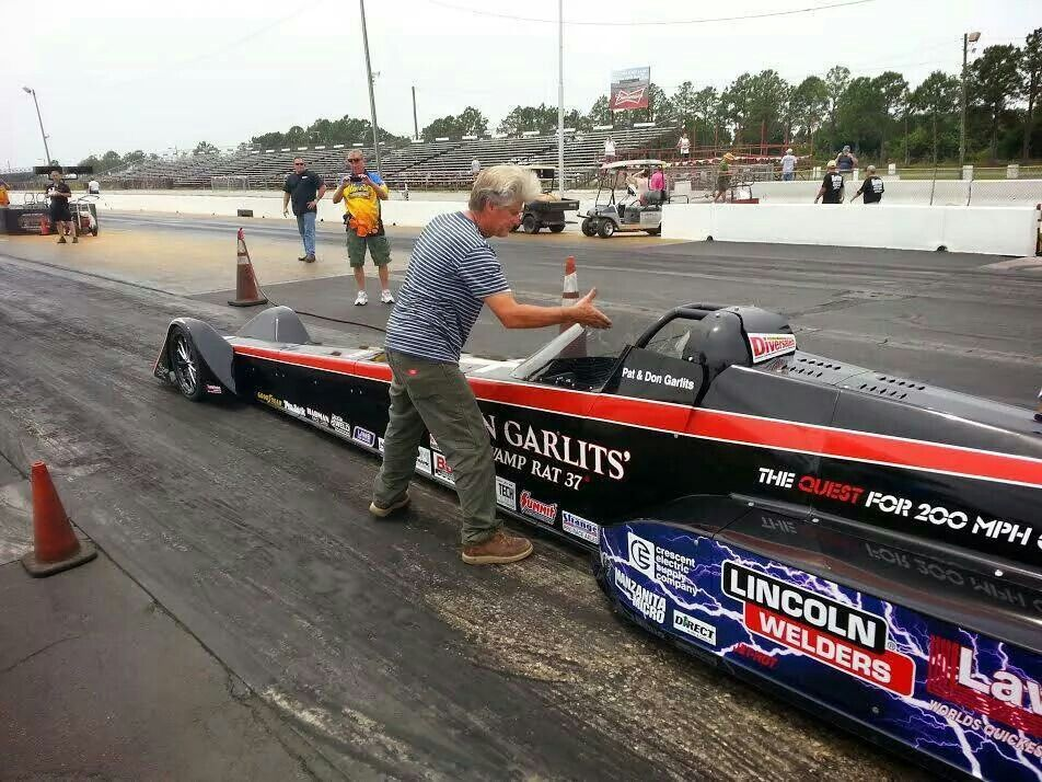 Don Garlits Swamp Rat 37 All Electric Dragster Reaching For 200 Mph In The Quarter Mile