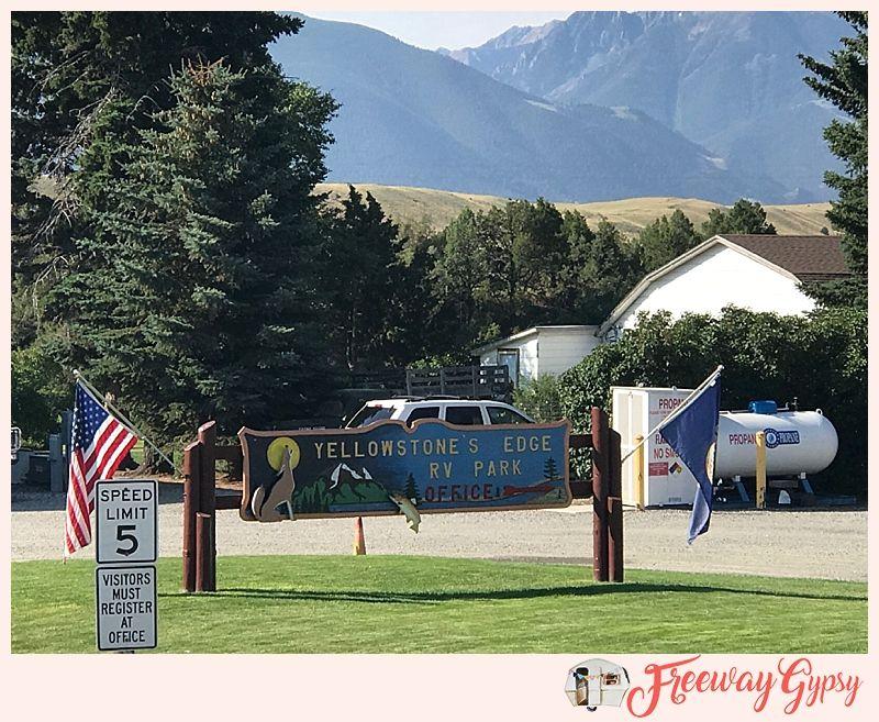 Full Time Rvers Campground Rv Park Review Yellowstone S Edge Rv Park Livingston Montana Rv Parks Yellowstone Campground Reviews