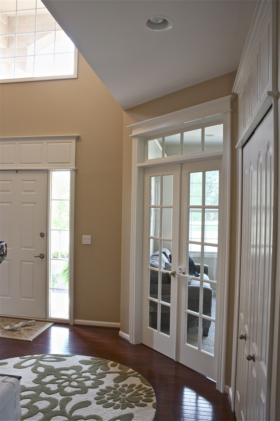 I just want the doors to look like they have a purpose - How to hang interior french doors ...