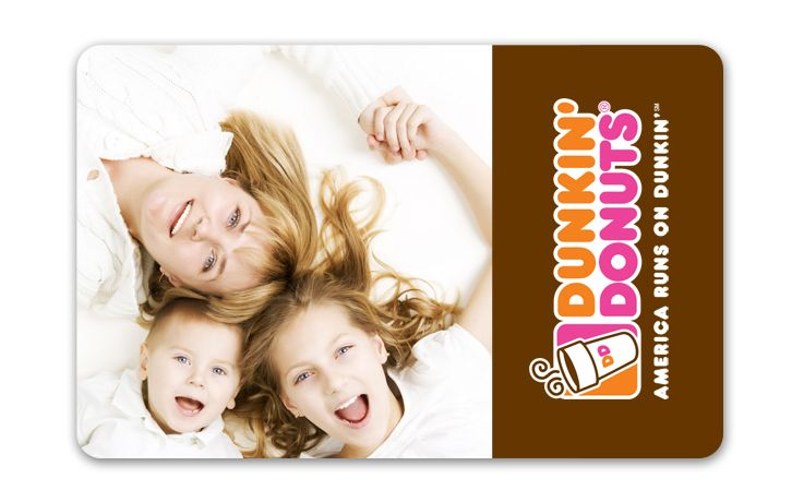 Gift Idea Customize Your Dd Card W A Personalized Image Click On Pin To Visit Our Dd Card Site F Dunkin Donuts Gift Card Personalized Gift Cards Donut Gifts