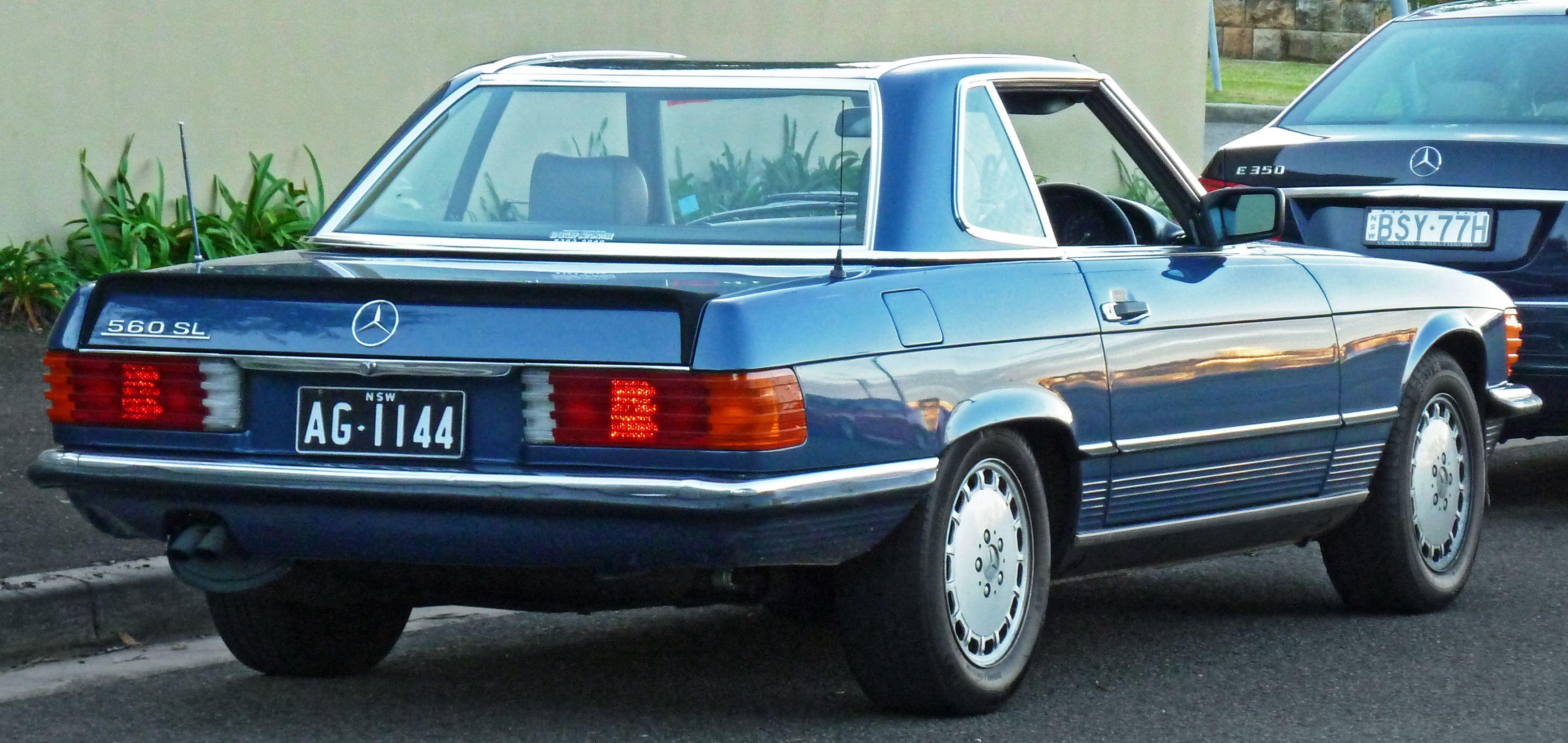 1987 mercedes benz 560 sl roadster australia mercedes for Mercedes benz 1987