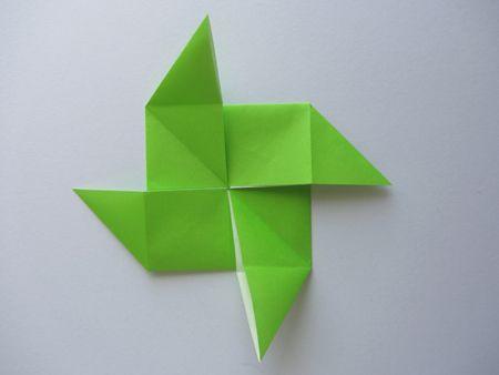 Origami Pinwheel Base | Dollar Origami | Pinterest ...