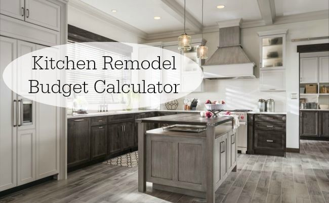 Kitchen Remodel Budget Calculator Easy To Use Tool For Figuring How Much Spend
