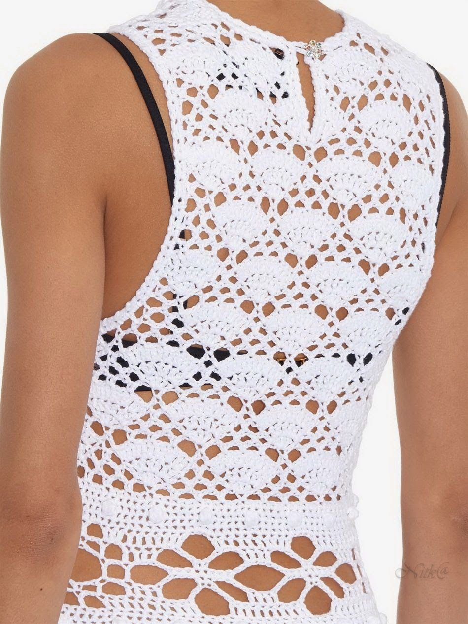 Crochetemoda Blog | Andrea | Pinterest | Blusas tejidas, Blusas y ...