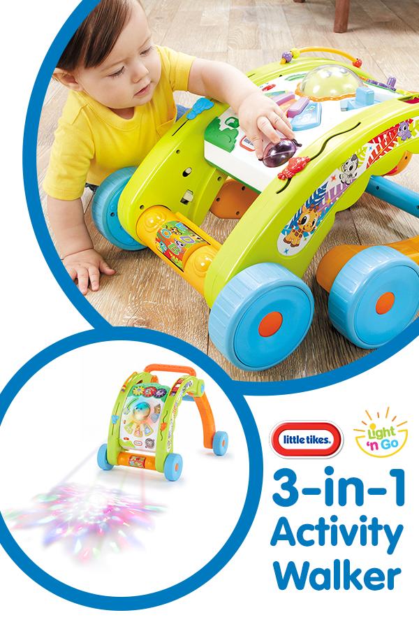 Light N Go 3 In 1 Activity Walker Baby Basics Activities Play Activities