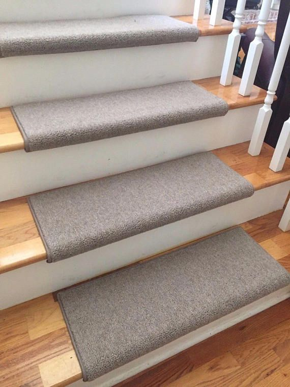 Richmond Taupe New Zealand WoolTRUE Bullnose™ Carpet Stair | Stairway Ideas  | Pinterest | Stair Treads, Staircases And Craftsman Style