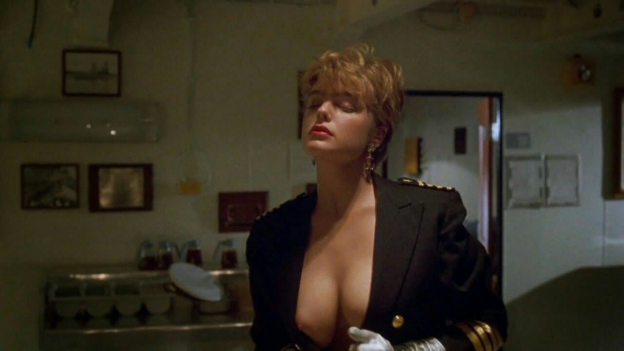 Erika Eleniak In An Unforgettable Scene In Under Siege Erika