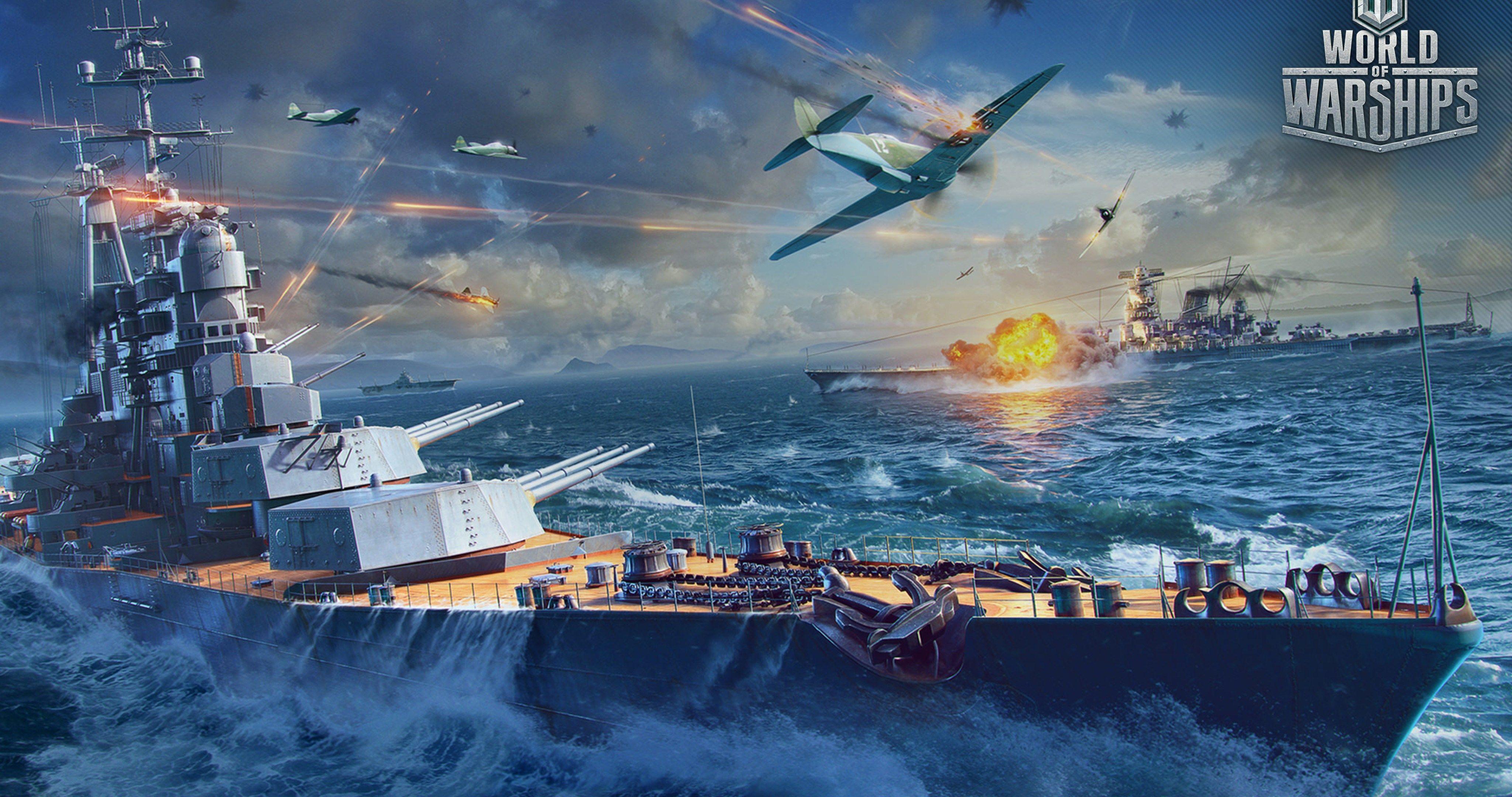 Ussr Battleship Attack 4k Ultra Hd Wallpaper World Of Warships
