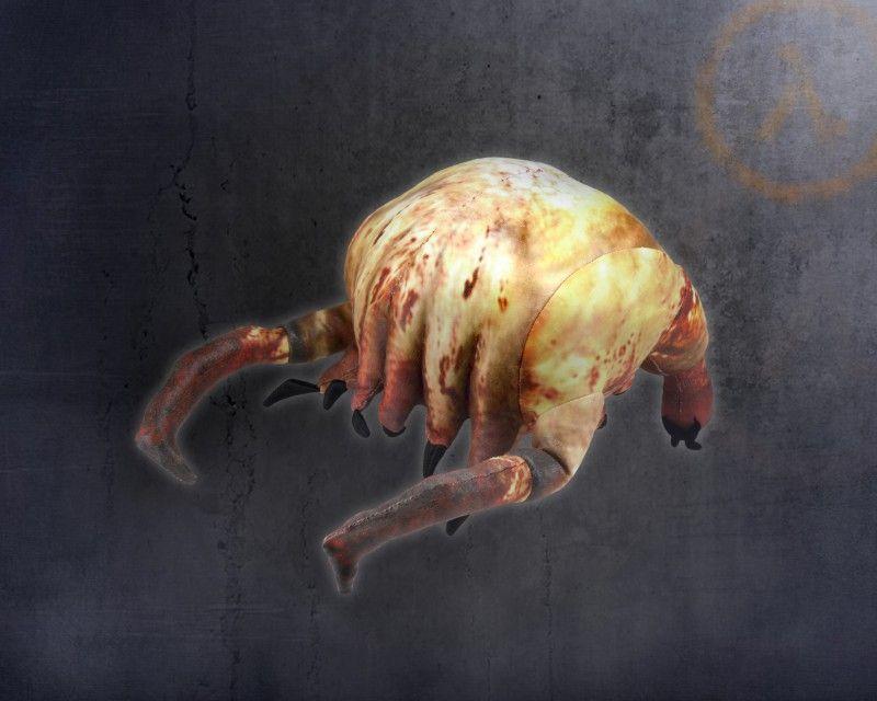 NECA Half Life Head Crab Plush Toy