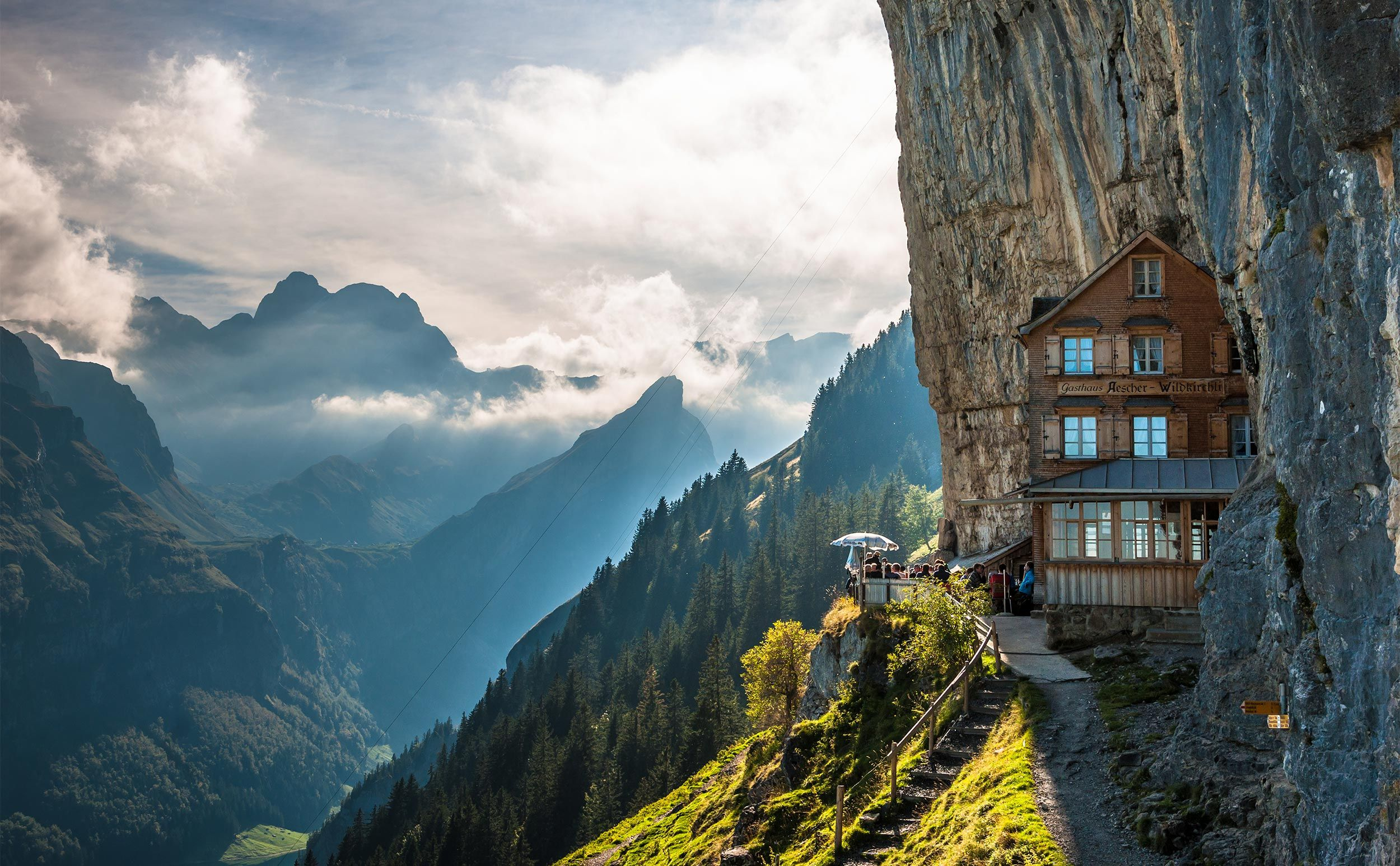 Nowhere Else In Switzerland Is The Change From The Hilly Landscape