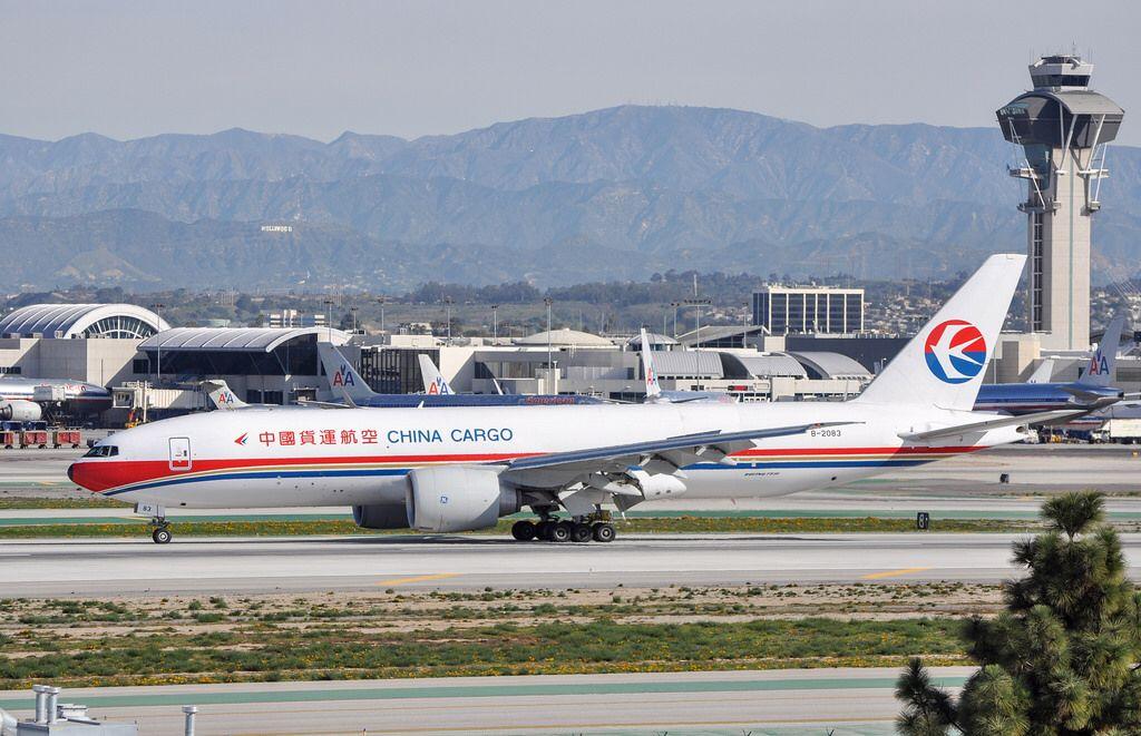 China Cargo 777F6N arriving at LAX_20130216 China