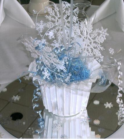 Winter Wonderland Centerpiece Winter Wonderland Wedding