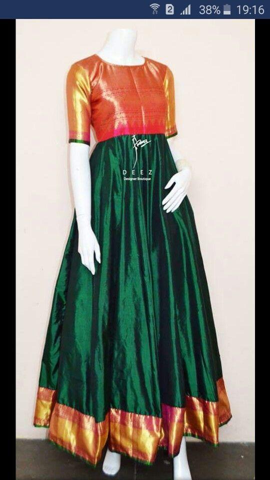88d0da0d7 Paithani dress
