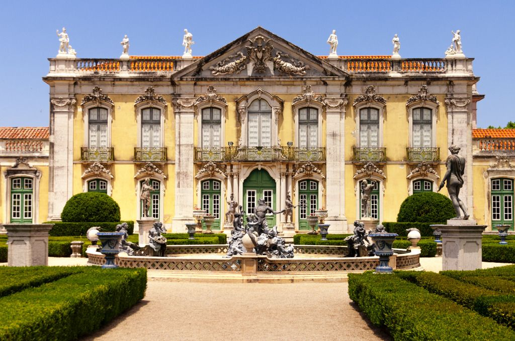 Queluz National Palace, Sintra, Portugal jigsaw puzzle in