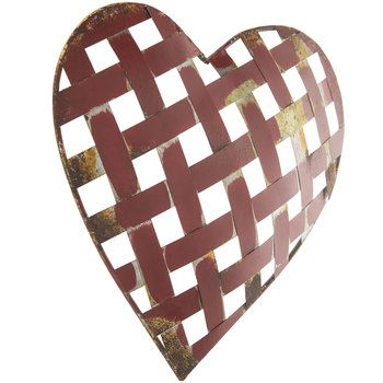 Galvanized Metal Heart Wall Decor | Ideas for the House | Pinterest ...
