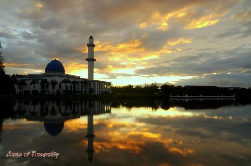 Scene of Tranquility: Uniten lakeside at dawn
