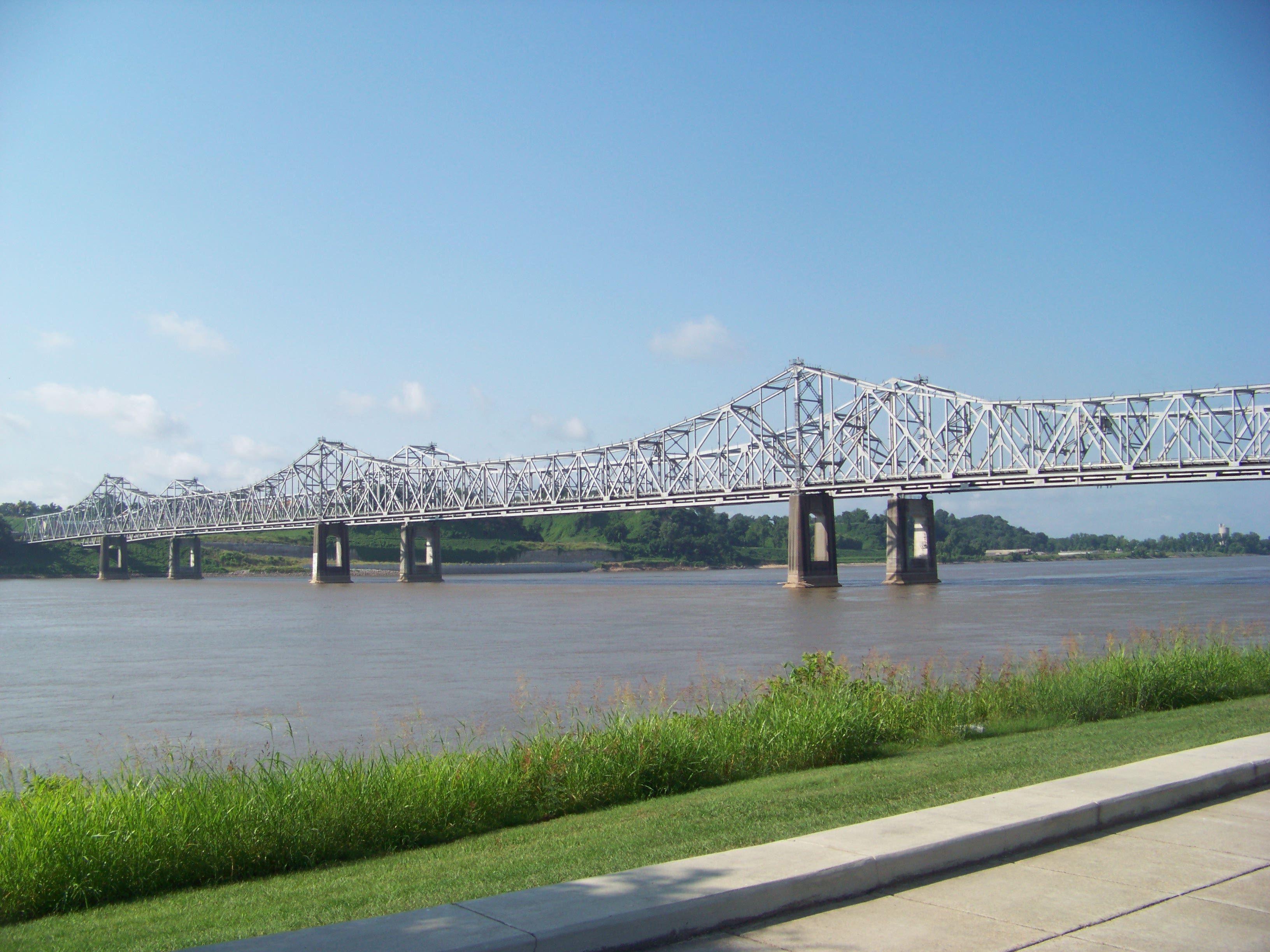 Bridge Over The Mississippi At Natchez