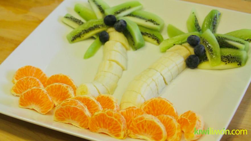 C mo decorar un plato de frutas para ni os adornos para - Como decorar platos ...