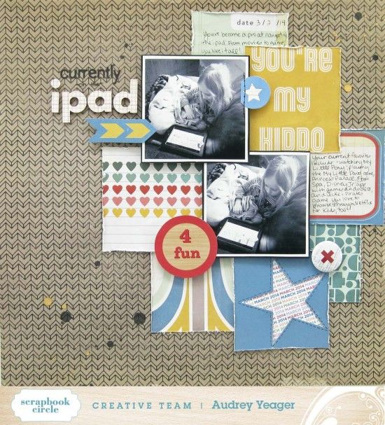 #papercraft #scrapbook #layout.  Challenge #70: Captured Candid