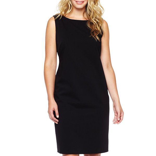 Liz Claiborne Sleeveless Dress - Plus - JCPenney | Dresses ...